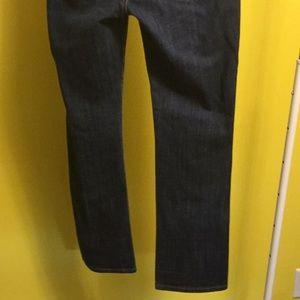 CAbi Jeans - CAbi high waist straight leg blue jeans